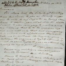More details for 1814 haverhill, suffolk rev. merewether & church hill, woolwich, kent ms letter