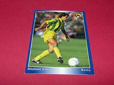 S. ZIANI FC NANTES FCN CANARIS BEAUJOIRE BASTIA PANINI FOOTBALL CARD 1994-1995
