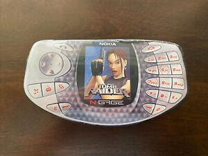 "2002 Nokia ""N Gage"" Laura Croft: Tomb Raider T-Shirt! New/Sealed! Rare!"