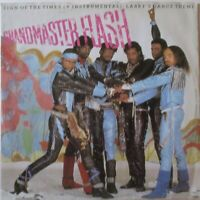 """GRANDMASTER FLASH - Sign Of The Times ~ 12"""" Single PS"""