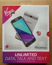 Virgin Mobile Samsung Galaxy J3 Emerge 4G LTE 16GB Prepaid Smartphone SM-J327P
