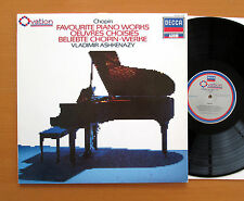 410 180-1 Chopin Favourite Piano Works Vladimir Ashkenazy DECCA Ovation NM/EX