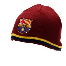OFFICIAL Licensed Football Club FC Barcelona a Maglia Cappello Invernale Beanie TP Regalo