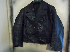 VINTAGE WW2 GERMAN LUFTWAFFE HORSEHIDE LEATHER FLYING JACKET SIZE L
