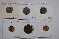 MOZAMBIQUE - 20 CENTAVOS - 6 COINS LOT A99 CM5 - 23