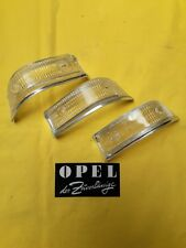 NEU + ORIGINAL Opel Kadett B Coupe F Limousine Blinker Gläser Weiß Chrom