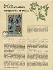 Palau 102a on Souvenir Page - Songbirds, Fruit