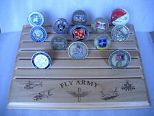 """Military Challenge Coin Holder 9x12,""""FLY ARMY"""""""