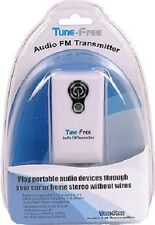 Tunefree FM Transmitter for use at Home with Stereo Radio or In -Car