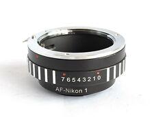 Sony Alpha Minolta AF to Nikon 1 Mount Adapter S1 J1 J2 J3 V1 V2 MA-N1