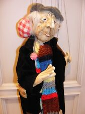 Old Man marionette made in Germany by H. J. Finhold