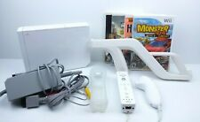 Nintendo Wii White Console RVL-001 Bundle - Games Accs. Cords Remote TESTED