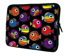 """LUXBURG 14"""" Inch Design Laptop Notebook Sleeve Soft Case Bag Cover #DB"""