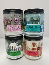 Winter Candy Apple, Vanilla Bean Noel, Twisted Peppermint, Snowflakes & Citrus