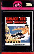 Bruce Lee vive ancora (1982) VHS AVO Film Bruce Lee  Chuck Morris