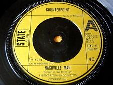 """Contrappunto-Nashville MAN 7"""" in vinile"""