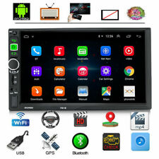 7'' Android 9.1 Car MP5 Player GPS Navigation Wifi FM Radio Stereo USB AUX 2din