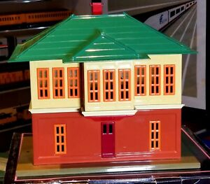 MTH Tinplate Traditions 437 Standard  Gauge Switch Tower- Near Mint Condition