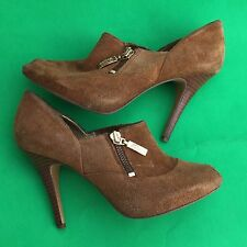 Guess by marciano women's fashion brown stiletto heels shoes size-6.5M