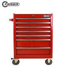 "TARGA 26"" 7 Drawer MECHANICS TOOL CHEST Roller Cabinet Tool Box RED TR26R"