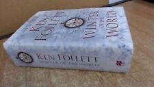 Winter of the World, Follett, Ken, Macmillan, 2012, Hardcover