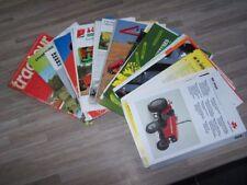 Lot de 48 Prospectus/Brochure/Prospekt agricoles/tracteurs Diverses Marque (537)
