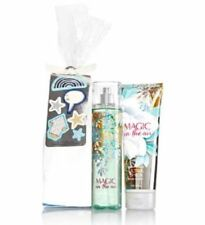 BATH AND BODY WORKS MAGIC IN THE AIR BODY MIST + BODY CREAM FULL SIZE GIFT SET