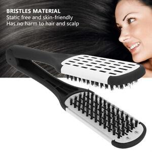 Hair/Beard Straightener Comb Brush Curler Hot Irons Curling Flat Home