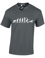 EVOLUTION OF CROSSFIT MENS T SHIRT COOL TRAINING TOP DESIGN FITNESS GYM S - 5XL