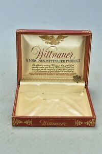 Vintage WITTNAUER LONGINES WRISTWATCH GIFT BOX ONLY #01564