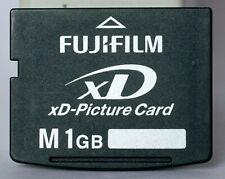 Fujifilm 1GB type M XD card.