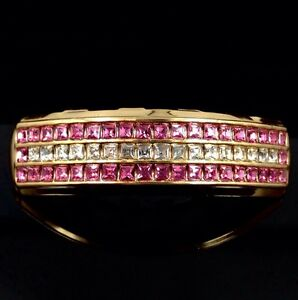 Premium Grillz Pink ice 14k Gold Plated Cz Top Girls/Mens Grills For Teeth Bling