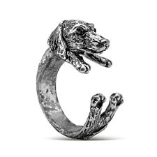 DACHSHUND RING ADJUSTABLE SIZE Dog Animal Lovers Natural Sweet Domestic