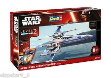 STAR WARS AEREO DA CACCIA Resistance ALA-X Fighter,Revell Kit di costruzione