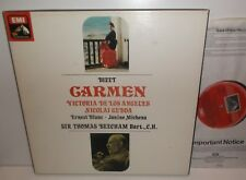 SLS 5021 Bizet Carmen De Los Angeles Gedda Beecham 3LP Box Set