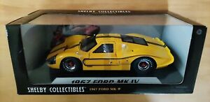 Shelby Collectibles 1967 Ford GT40 MK IV, 1:18