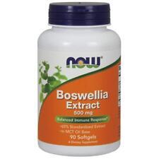 NOW FOODS, BOSWELLIA EXTRAKT mit Kurkuma, 500 mg, 90 Weichkapseln SUPER PREIS