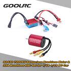 GoolRC S2430 7200KV Sensorless Brushless Motor &25A ESC Set for 1/16 1/18 RC Car