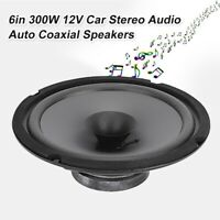 6 Inch 500W Car Automobile Coaxial Speaker Loudspearker Replacement Accessory