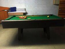 Pool Billardtisch inkl Zubehör klein 185x103x78 cm wie Neu kaum genutzt Kunstoff