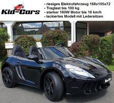 Elektroauto Doppelsitzer XXL Porsche bis 16 km/h Elektrofahrzeug kinder 2 sitzer
