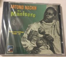 El Manisero: Early Recordings 1929-1930 by Antonio Machín (CD, Oct-2005, Tumbao…