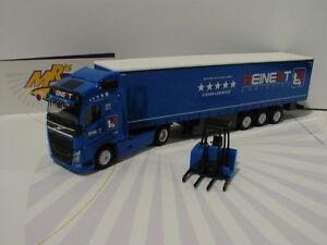 """Herpa 308465 # Volvo FH GL. Sattelzug LKW mit Stapler """" Reinert Logistics """" 1:87"""