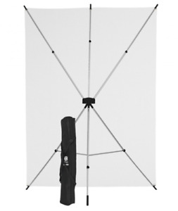 5x7 FT White X-drop System Background Kit