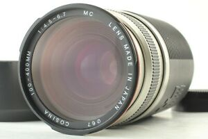 [Exc+4] COSINA AF 100-400mm f/4.5-6.7 MC Zoom Lens For Nikon From Japan #839