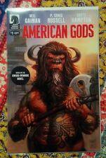 DARK HORSE COMICS - American Gods #1 - New/unread, bagged, boarded (Neil Gaiman)