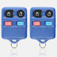 2 Car Key Fob Keyless Remote 4B Navy For 2011 2012 2013 2014 Ford Mustang