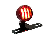 Black Motorbike 12V LED Stop Tail Light For Retro Cafe Racer Custom Project
