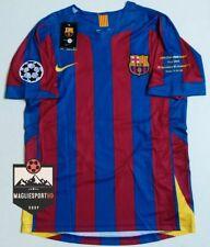 Maglia Ronaldinho Barcellona Finale 2006 - Calcio Retro Messi Barcelona Barca
