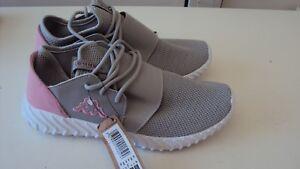 KAPPA Girl's Grey & Light Pink Trainers / Sneakers / Shoes EU 38/ UK 5